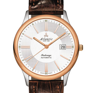 Atlantic Watches Seabreeze Gents Automatic Rose Gold